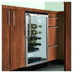 Summit Appliance - Wine Cellar with Hidden Evaporator in Black