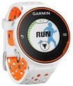 Garmin - Forerunner 620 GPS Watch - White/Orange
