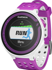 Garmin - Forerunner 220 GPS Watch with Heart Rate Monitor - White/Violet