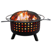 Landmann - 26314 City Lights Memphis Wood Fireplace - Black