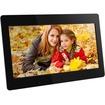 Aluratek - 18.5 inch Digital Photo Frame with 4GB Built-in Memory - Black - Black