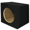 Sycho Sound - 10 Inch Car SUV Truck Carpet Bass Sub Enclosure NIB 10S - Black
