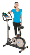 Exerpeutic - 3000 Mobile App Tracking Upright Bike