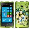Insten - For Huawei W1 H883G Rubberized Design Case Cover - Hawaiian Flowers