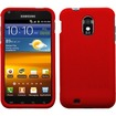 BasAcc - For Samsung Epic Touch 4G D710 / Galaxy S2 Rubberized Case Cover - Red - Red
