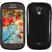 Insten - For Samsung Galaxy Light T399 TPU Rubber Candy Case Cover - Black Candy
