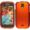 Insten - For Samsung Galaxy Light T399 Rubberized Case Cover - Orange