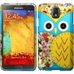 Insten - For Samsung Galaxy Note 3 N9000 Rubberized Design Case Cover - Owl