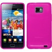 Insten - For Samsung Galaxy S II i777/i9100 TPU Rubber Gel Skin Case Cover - Hot Pink