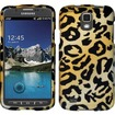 Insten - Rubberized Design Case Cover For Samsung Galaxy S4 Active i537 i9295 - Cheetah