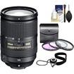 Nikon - 18-300mm f/3.5-5.6G VR DX ED AF-S Nikkor-Zoom Lens with 3 (UV/FLD/CPL) Filters + Accessory Kit