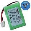 HQRP - Battery for Eton / GRUNDIG FR200-BAT, 3-1/2AA-WNMH, FR200, FR200G, FR250, FR300 Radio + Coaster