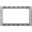 """Panasonic - 30"""" Trim Kit for Select Microwaves - Stainless - Stainless"""