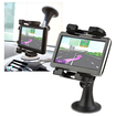 eForCity - Universal GPS Windshield Phone Holder - Black - Black
