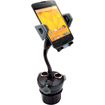 USA Gear - Auto/Car Cup Holder Display Phone Mount with 3 DC Outlets & Dual USB Charging Ports