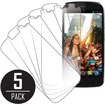 MPERO - MPERO Collection 5 Pack of Screen Protectors for BLU Life Play - Clear