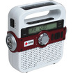 American Red Cross - AM/FM Weather Alert Radio with USB Cell Phone Charger - White - White