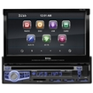 """BOSS - 7"""" - CD/DVD - Apple® iPod®-Ready - In-Dash Receiver with Motorized Faceplate and Remote - Black"""
