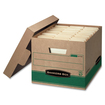 Bankers Box - Recycled Stor/File - Letter/Legal - Green, Kraft