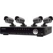 Vonnic - DK8-C2804CCD-HDD 8 Channel DVR with 4 SONY CCD Cameras- Pre-installed 500GB HDD