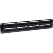 Intellinet - Cat6 Patch Panel - Black - Black