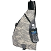Extreme Pak - 600D Poly Water-Repellent Sling Backpack - Multi