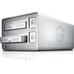 G-Technology - G-DOCK ev DAS Array - 2 x HDD Supported - 2 x HDD Installed - 2 TB Installed HDD Capacity
