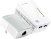 TP-LINK - Wireless N300 Wi-Fi Extender Starter + AV500 Powerline Adapter Kit - White