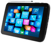 "Supersonic - 7"" Android 4.2 Touch-Screen Tablet - 8GB - Black"