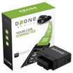 CompuStar - DroneMobile Vehicle Telematics and GPS Tracking Device - Black