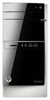 HP - Pavilion Desktop - AMD A6-Series - 8GB Memory - 1TB Hard Drive - Black