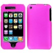 Insten - For iPhone® 3G Cingular Rubberized Case Cover - Rose Pink