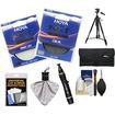 Hoya - 62mm NXT HMC UV+Circular Polarizer Multi-Coated Glass Filters w/ Tripod+Filter Case+Accessory Kit