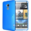 TUDIA - Ultra Slim Melody TPU Bumper Protective Case for HTC One Max / HTC T6 - Blue Melody - Blue Melody