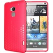 TUDIA - Ultra Slim Melody TPU Bumper Protective Case for HTC One Max / HTC T6 - Pink Melody