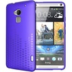 TUDIA - Ultra Slim Melody TPU Bumper Protective Case for HTC One Max / HTC T6 - Purple Melody