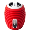 Sunbeam - Rechargeable Portable Speaker with Cable - Red - Red
