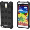 Monoprice - DotDefender PC+Silicone Case for Samsung Galaxy Note 3 - Black - Black