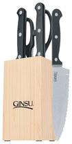 Ginsu - Essentials Series 5-Piece Prep Set - Black