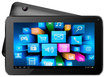 """Supersonic - 7"""" Android 4.2 Touch-Screen Tablet - 4GB - Black/Red"""