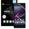 GreatShield - MERE Mark II Ultra Clear HD Screen Protector for T-Mobile Sony Xperia Z1S (3 Packs) - Clear