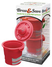 Ekobrew - Brew & Save Reusable Filter for Select Keurig Single-Serve Coffee Brewers - Red