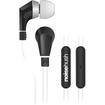Hypercel - 3.5mm Stereo Headphones - Black, White