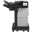 HP - LaserJet Laser Multifunction Printer - Color - Plain Paper Print - Floor Standing - Black