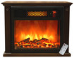 SUNHEAT - Thermal Wave Portable Infrared Fireplace - Espresso