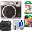 Fujifilm - Instax Mini 90 Neo Classic Instant Film Camera w/Instant Film+Instant Rainbow Film+Case+Cleaning Kit