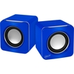 Arctic - Arctic S111 USB Powered Portable Speakers - Blue - Blue