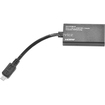 Monoprice - Micro USB to HDMI MHL Adapter - Black