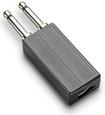 Plantronics - Modular to Dual-Prong Adapter