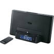 Sony - Speaker Dock Clock Radio with Lightning Connector for iPhone®, iPod® - Black
